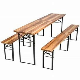 table et banc 1